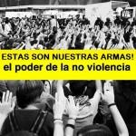 Guia de No violencia para las acciones del aniversario 15M