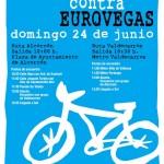 Bicicletada contra EuroVegas
