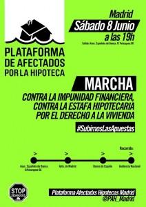 Cartel Marcha8J